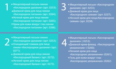 4 шаг стартовой программы наборы оксиолоджи Фаберлик